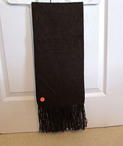Alpaca Scarf – Chocolate Brown
