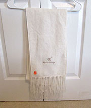 Alpaca Scarf – Cream White